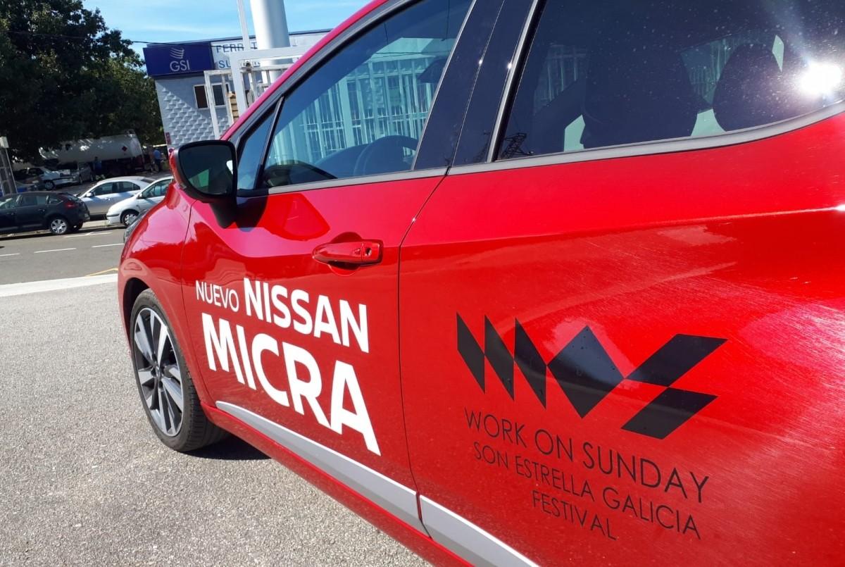 Nissan Caeiro Rey patrocinador del WOS Festival 2018