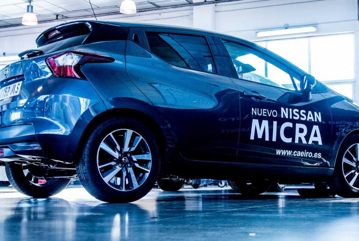 Nuevo motor gasolina de 100CV para el Nissan Micra