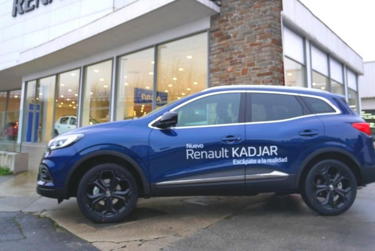 Llega a Caeiro el nuevo Renault Kadjar 2019