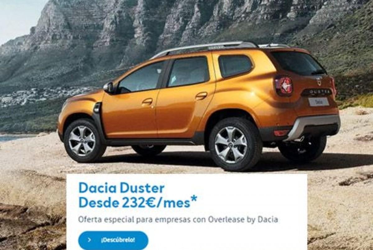 Nuevo Dacia Duster desde 232/mes con Overlease by Dacia