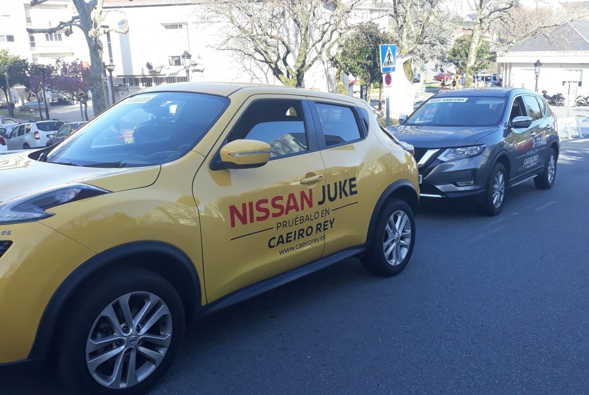 Nissan Caeiro Rey presente en el IV Memorial Fernando Abad