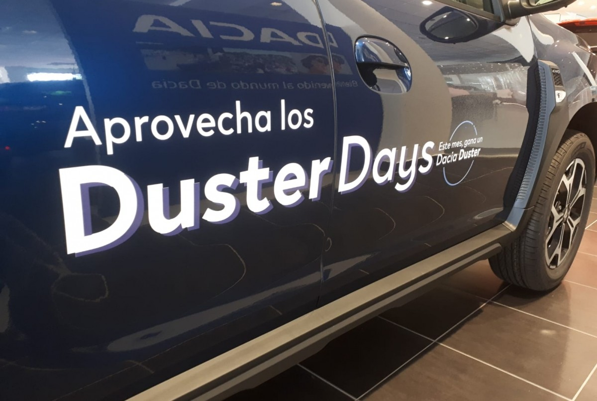 Un Dacia DUSTER gratis… ¡todavía puede ser tuyo!