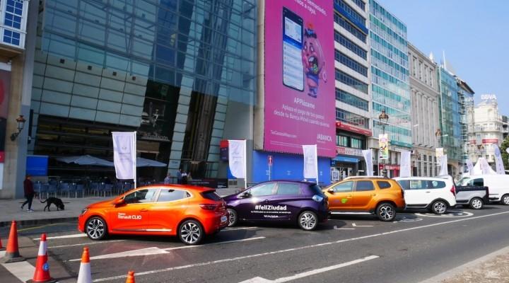 Renault Caeiro en la Semana de Mobilidad Sostenible de A Coruña
