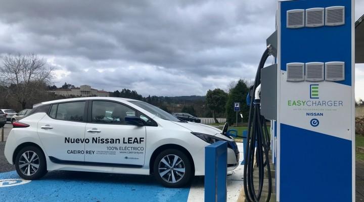 Santiago de Compostela ya cuenta con estación Nissan-Easycharger