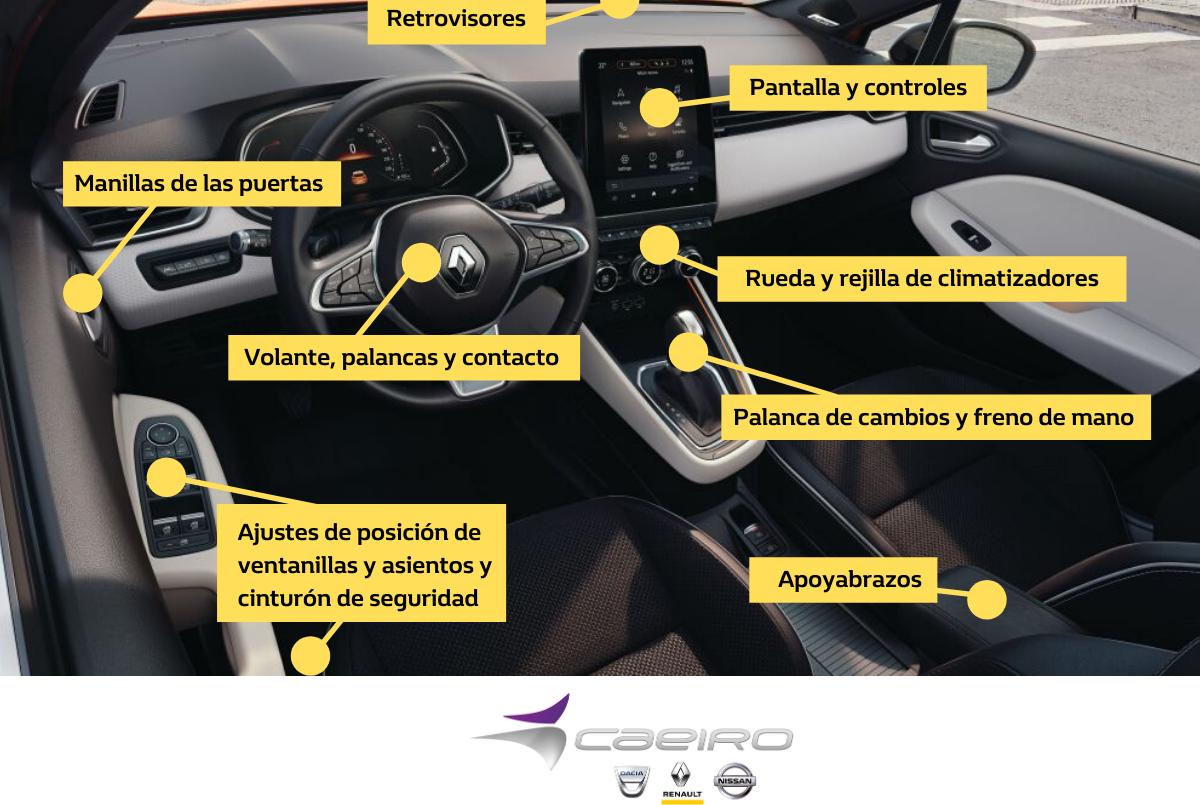 ¿Cómo desinfectar tu coche del COVID-19?