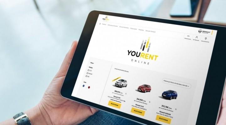 You Rent Online, el renting para particulares de Renault 100% online