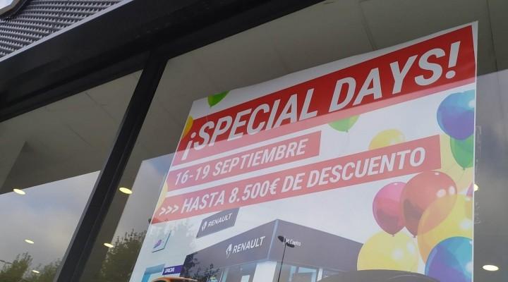 ¡Llegan los Special Days de Septiembre!
