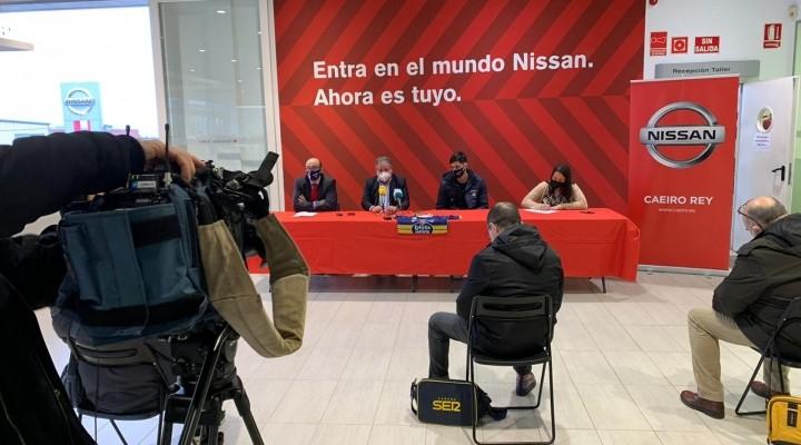 Antonis Koniaris presentado en Nissan Caeiro Rey