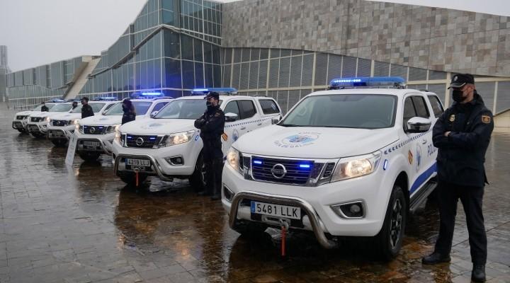 Entrega de flota Nissan Navara a Policía Autónoma de Galicia