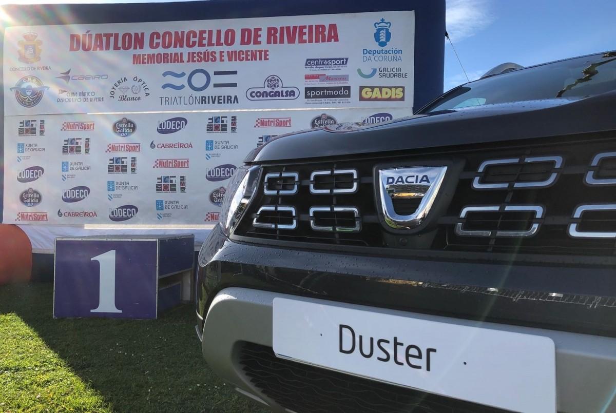 Nuevo Dacia Duster patrocinador oficial del IV Duatlón Concello de Ribera