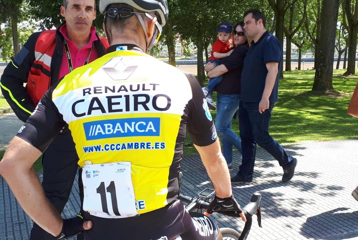 Renault Caeiro presente en el Campeonato Gallego de ciclismo de fondo en carretera